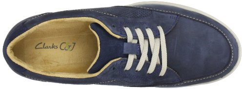 Homme Nubuck Clarks Chaussures Bleu Park5 navy De Stafford Ville n88gRSX