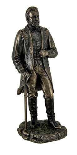 - Resin Statues Ulysses S. Grant 18Th Us President Standing In Uniform With Sword Statue 4 X 11 X 4 Inches Bronze