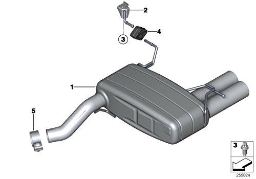 BMW Genuine Exhaust Muffler Silencer Rubber Mounting Hanger Bracket 18208511880