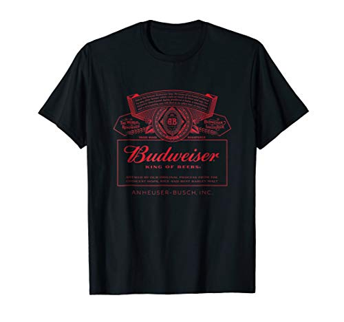 Budweiser Can Label T-Shirt ()