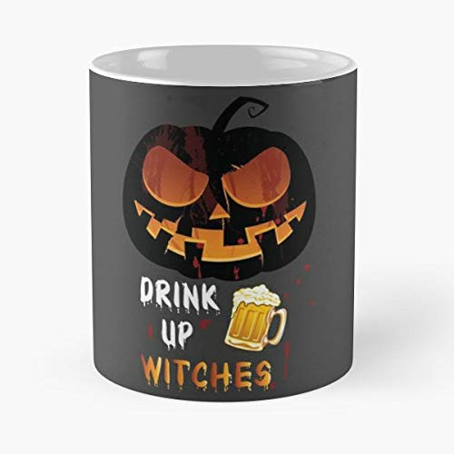 Halloween Parents Design Birthday Gift - 11 Oz Coffee Mugs Unique Ceramic Novelty Cup, The Best Gift For Halloween.