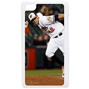MLB IPod Touch 4 White Baltimore Orioles cell phone cases&Gift Holiday&Christmas Gifts NBGH6C9124355