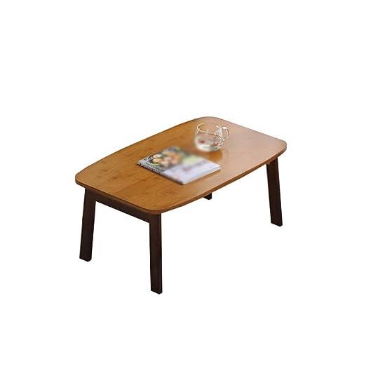 DGYAN Mesa Plegable, Mesa de bambú para computadora portátil con ...