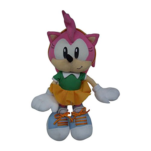 GE Animation Sonic the Hedgehog: Classic Amy Plush (Sonic Amy Toy)