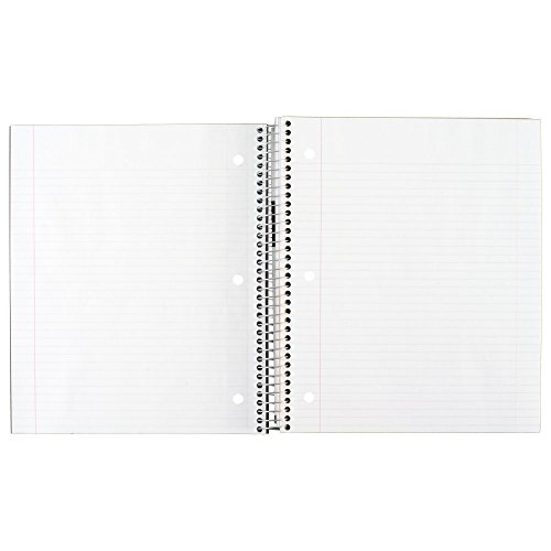 043100061120 - MEA06112 Trend Notebooks, Perforated, 5-Subject, 200/Sht, Assorted Colors carousel main 7