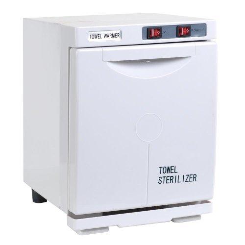 5L UV Heat Towel Warmer Cabinet Storage Spa Salon Sterilizer