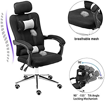 Molisell Ergonomic Adjustable Executive Office Chair