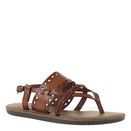 Madeline Women's Bon Bon Flat Sandals - Brown Sugar - 7.5 M US