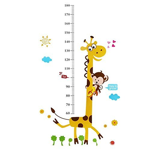 childs wall height chart - 6