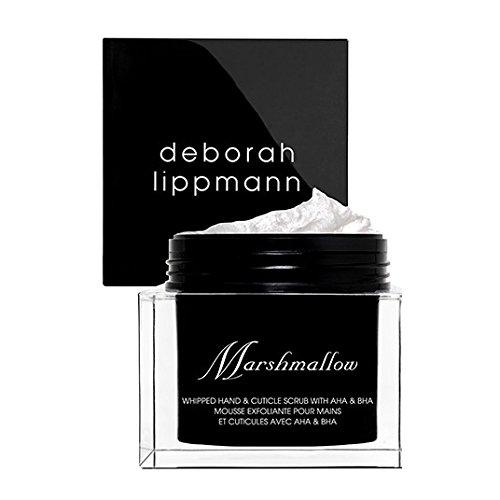 Deborah Lippmann MARSHMALLOW Whipped Hand & Cuticle Scrub with AHA & BHA, 2 oz.