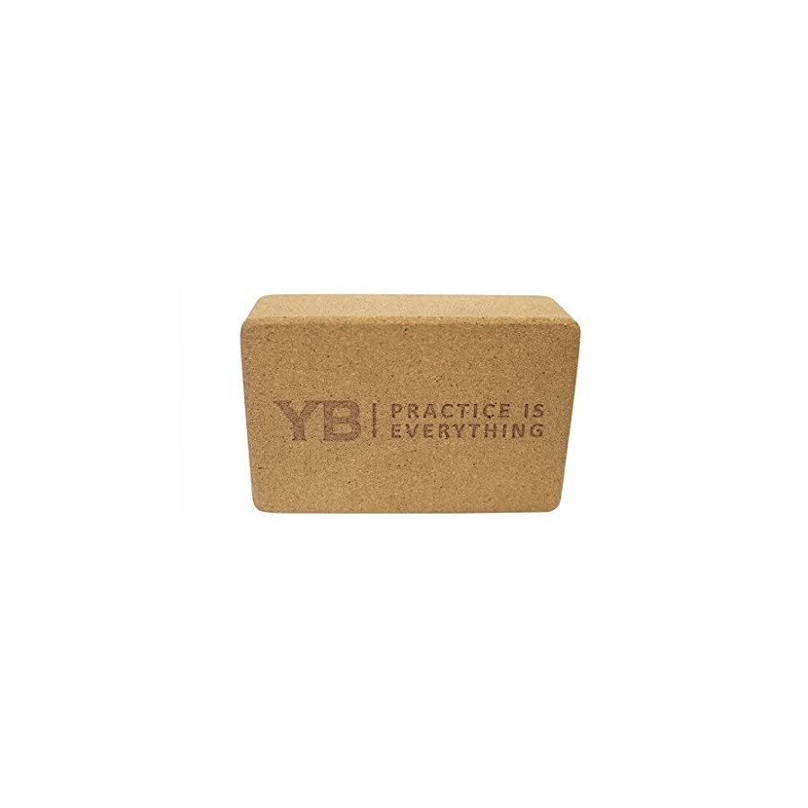 YOGABODY Naturals Cork Yoga Block Natural & Sustainable Material
