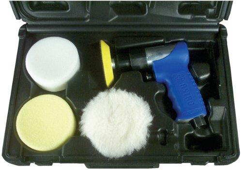 Astro Pneumatic Air Drill (Astro 3055 3-Inch Mini Air Polishing Kit)