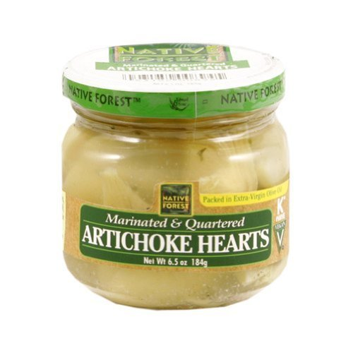 Native Forest Artichoke Hearts Marinated (6x6.5 Oz) by Native Forest