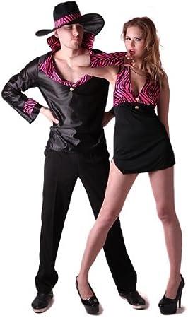 Disfraz de pareja de chulos - L: Amazon.es: Juguetes y juegos