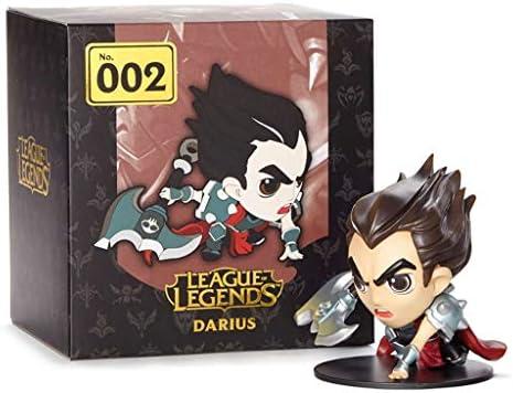 For League Of Legends Game Figuren, LOL Series Figures/Classic Darius Statue, Exquisite En Koel Resin Modellen, Perfect Collecties For Desktop Stage- Of Vitrines