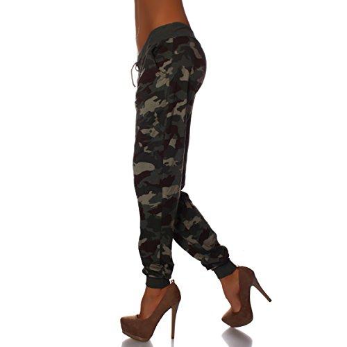 Moda - Pantalón - para mujer verde oliva