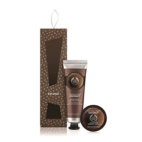 The Body Shop Coconut Soft Hands Warm Kisses Duo Gift Set