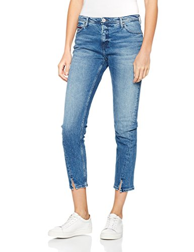 Hilfiger Denim Twisted Cropped Lana Dubst, Jeans Mujer Azul (Duke Blue Stretch)