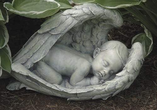 Roman 14.5″ Gray Joseph's Studio Sleeping Baby