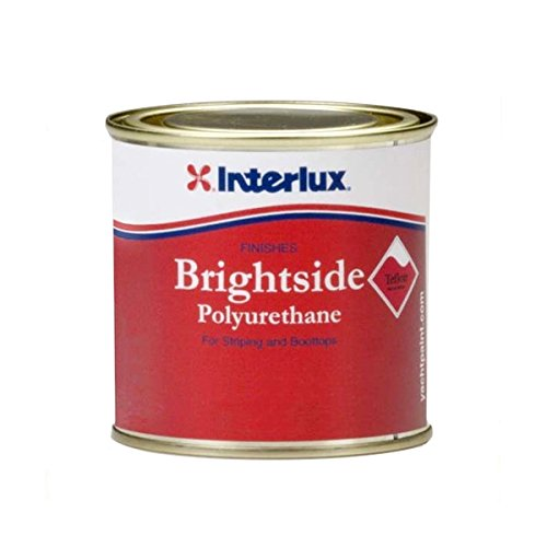 (Interlux Y4248/HP Brightside Boot top Paint (Fire Red, Half Pint)