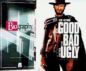 Clint Eastwood Bundle (2-Pack, 3-DVD): Biography (A&E, 2003) / The Good, The Bad And The Ugly (2-DVD Collector's Edition, 1967) (Total 4 hrs 39 min)