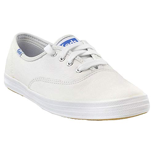 (Keds Women's Champion Oxford Leather Sneaker,White,US 8 SS)