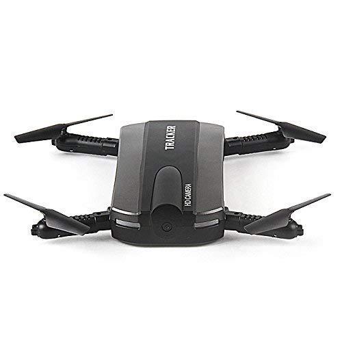 JXD 523 Tracker HD Camera WiFi Selfie Quadcopter Foldable Pocket Drone/Air Pressure Altitude Hold/Headless Mode/One Key Landing/One Key Take Off