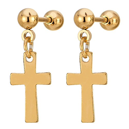 Stainless Steel Dangling Earrings Womens