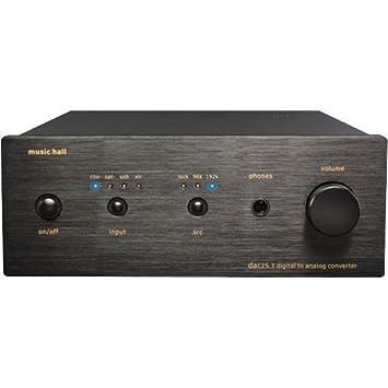 MUSIC HALL CONVERTIDOR DAC 25,3: Amazon.es: Electrónica