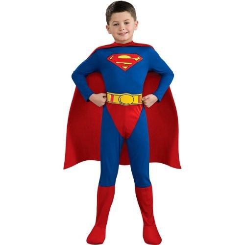 Superman Child Costume - (M&s Superman Costume)