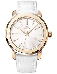 JBW Women's J6307D Analog Display Japanese Quartz White Watch
