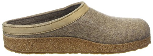 Beige Unisex Grizzly Torben adulto Pantofole Haflinger 550 Torf TwpPXqSWS