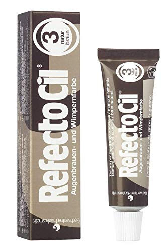 RefectoCil Cream Hair Dye (NATURAL BROWN) .5oz (Best Home Hair Dye Uk)