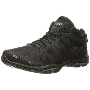 Ryka Women's Enhance 3 Cross-Trainer Shoe, Black/Grey, 9 M US