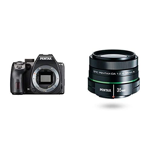 Pentax K-70 Weather-Sealed DSLR Camera, Body Only (Black) w/Pentax DA 35mm f/2.4 AL Lens for Pentax Digital SLR Cameras