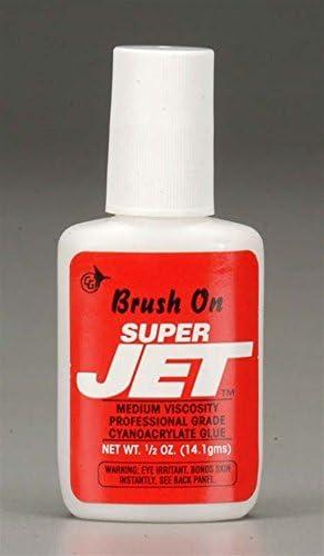 [해외]Jet Glue Brush-On Super Jet 12 oz JET771 / Jet Glue Brush-On Super Jet 12 oz JET771