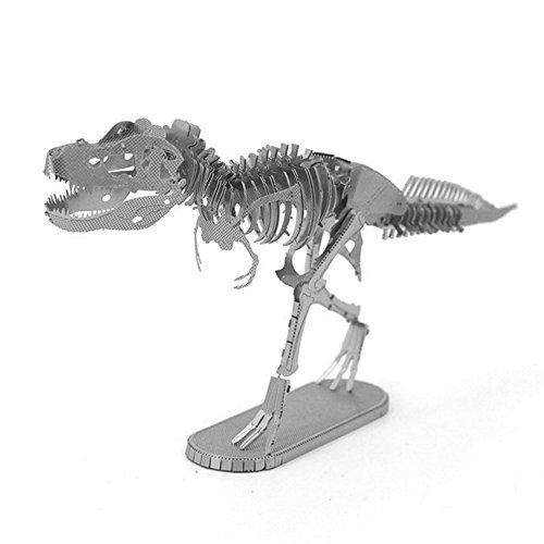 DIY Tyrannosaurus T - Rexナノメートル3dメタルモデルキットの商品画像
