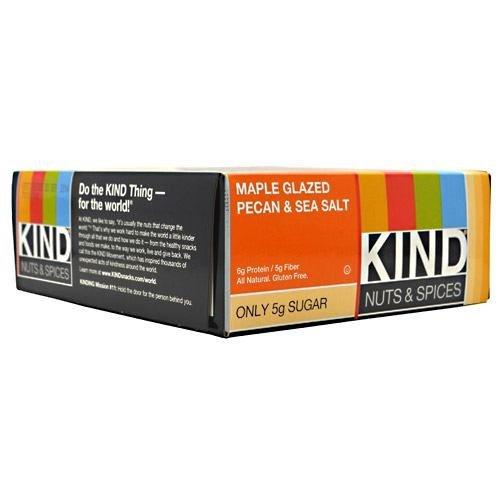 Kind Nuts & Spices, Maple Glazed Pecan & Sea Salt