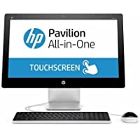 2018 HP Pavilion 21.5 FHD Touchscreen All-in-One Desktop Computer, Intel Pentium G3260T 2.9GHz, 4GB RAM, 1TB HDD, DVD, WiFi, Bluetooth 4.0, Windows 10 (Certified Refurbished)