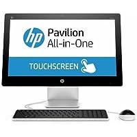 2018 HP Pavilion 21.5 FHD Touchscreen All-in-One Desktop Computer, Intel Pentium G3260T 2.9GHz, 4GB RAM, 1TB HDD, DVD, WiFi, Bluetooth 4.0, Windows 10 (Certified Refurbished)