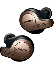 Jabra Elite 65t Earbuds - Passive Noise Cancelling Bluetooth Earphones with Four-Microphone Technology for True Wireless Calls and Music - Copper Black
