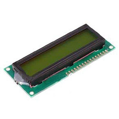 SHAPB 5pcs/lot 5V 1602 LCD Display Module White Character Yellow Green Blacklight for Duemilanove Robot