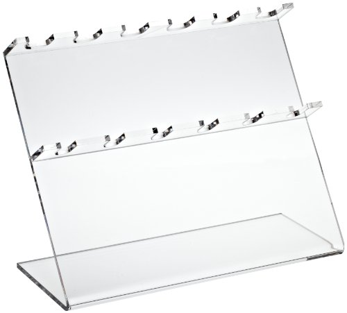 Bel-Art Pipettor Stand; 6 Places, 12 x 5 x 9½ in., Acrylic (F18961-0060) (Support Bel Stand Art)