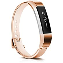 For Fitbit Alta HR and Alta Bands Metal,CreateGreat Replacement Accessory Bracelet Band for Fitbit Alta HR/Fitbit Alta Bands/Fitbit Alta
