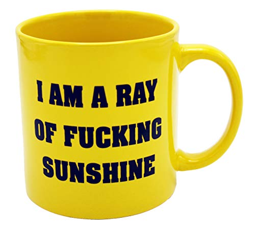 - Island Dogs I Am A Ray of Fucking Sunshine Coffee Mug