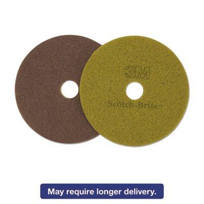 Sienna Floor Pads, 20-Inch, Sienna, 5/carton