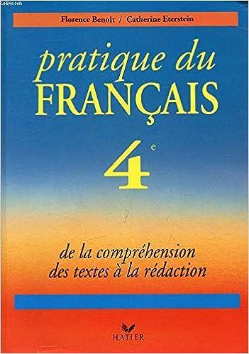 Amazon Fr Francais 4eme Pratique Du Francais De La