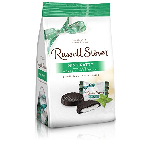 (Russell Stover Mint Patty Mini Gusset Bag, 6 Ounce Bag)