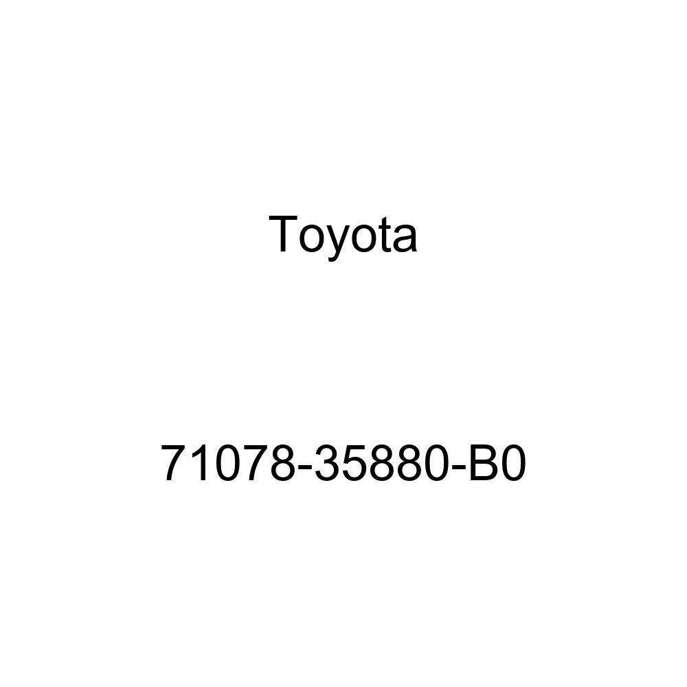 TOYOTA Genuine 71078-35880-B0 Seat Back Cover