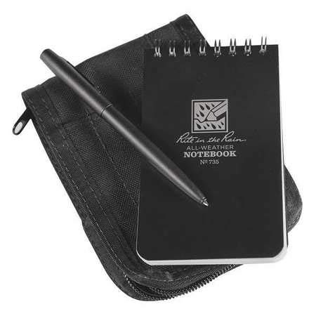 Notebook Kit, 3in x 5in Sheet, Black Cover by  (Image #1)